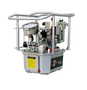 Гидравлические насосы для гидравлических гайковертов от 70 до 700 Bar.