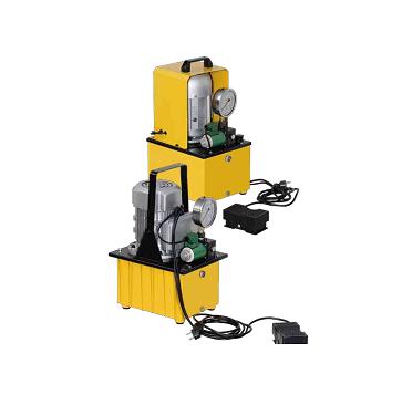 Гидравлические насосы с электрическим приводом 700 Bar. Одноходовые и Двухходовые.